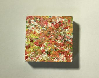 Small abstract 3D painting