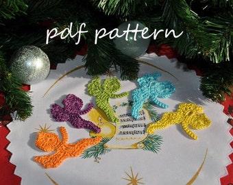 Mini Angel - crochet pattern