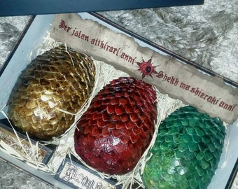 Game of Thrones. Dragon Eggs