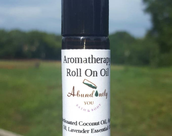 Lavender Aromatherapy Roll On Oil 10 ml