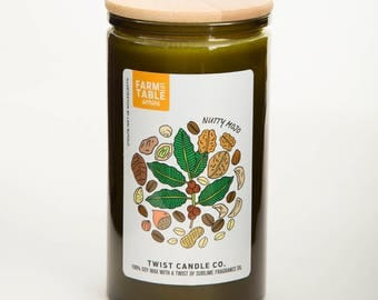 Nutty Mojo 18oz Soy Wax Candle