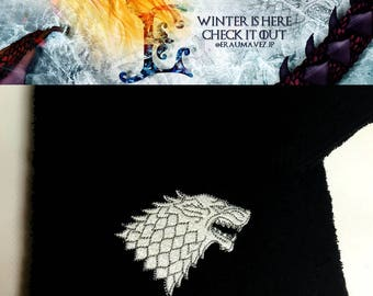 """Game of Thrones - Jon Snow """"King in the North"""" Towels"""
