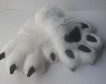 Custom Puffy Hand Paw Gloves