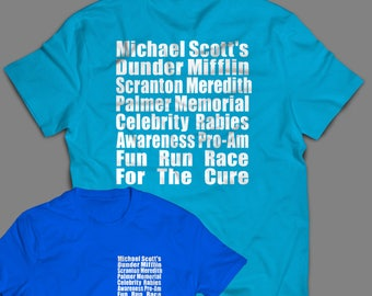 "The Office ""Meredith Rabies Awareness Fun Run"" Shirt S-4XL and Long Sleeve Available"