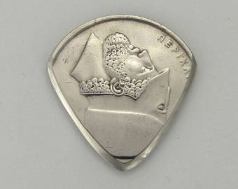 Coin Guitar Pick - Greece 20 Drachmai - Pericles