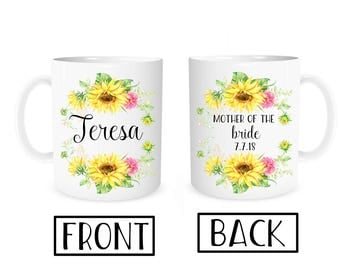 Mother of the Bride Mug, Mother of the Bride Gift, Wedding Gift for Mom, Wedding Mugs, Mother of the Bride gift from Daughter