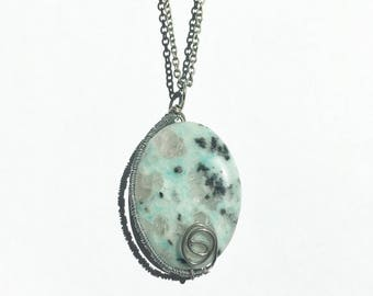 Kiwi Jasper Necklace