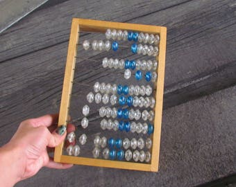 Gift|for|teacher Rustic Home Decor Abacus Wooden Abacus Office Decor Old School Calculator Old Abacus Wood Calculator Soviet Abacus large