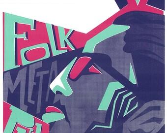 "MILO rapsmith Screen Print, 12x18"" Poster"