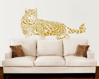 Leopard wall decor | Etsy