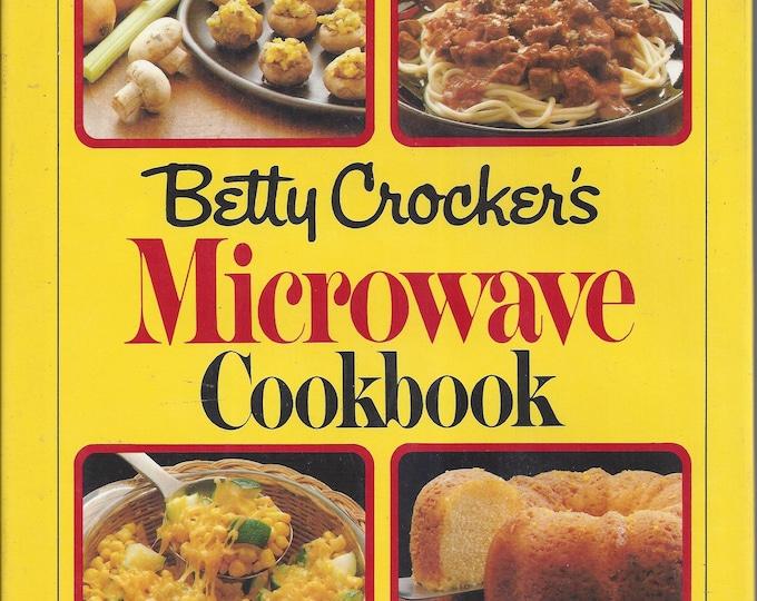 Betty Crocker's MICROWAVE CookBook 1981