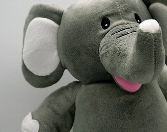 Elephant,baby gift,personalised,soft toy,new baby,birth announcement,baby shower,newborn,birthday,girl,boy,lucky,trunk,baptism day.wedding