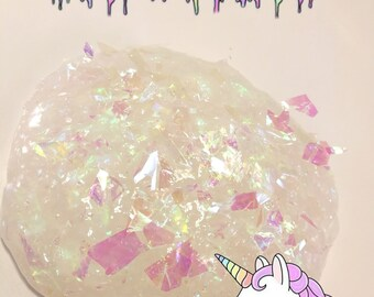 Unicorn Skin Holographic Slime