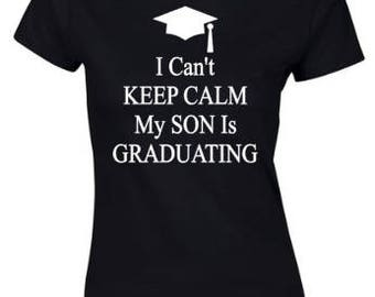 Graduation Shirt I Can't Keep Calm