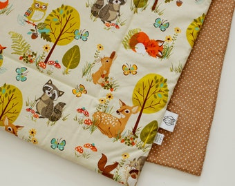 Baby Blanket - forest friends