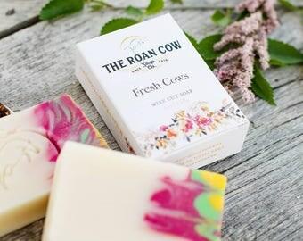 Wire Cut Artisan Soap ~ Fresh Cows