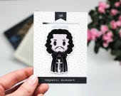 Snow - Magnetic bookmark (BIG) - GoT || book lover gift, winter is coming, bookmark, bookish, bookmarks, game of thrones, magnetic bookmarks