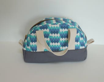 Travel Kit Cosmetic Bag with Handles
