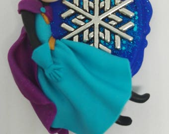 Disney frozen Queen Elsa inspired pendant