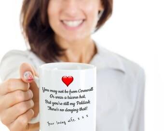 Mrs Ross Poldark Mug, Ross Poldark Mug, Poldarked, Demelza Poldark, Poldark Gift, I love Poldark, Rosspoldark, Captain Poldark, Gift for him