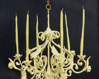 "Artisan Made 1:12 Scale Dollhouse Chandelier ""Felicia"""