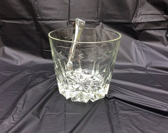 Princess House Crystal Ice Bucket
