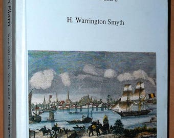Five Years in Siam 1891-1896 Volumes 1 & 2 (in single volume) 1994 H.W. Smyth Reprint Edition Soft Cover