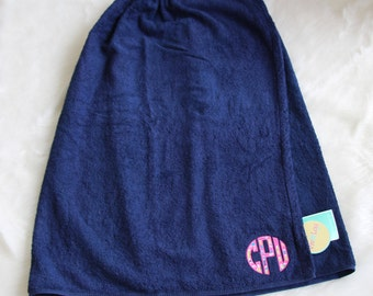 Lilly Pulitzer Inspired Monogrammed Robe