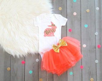 Easter first birthday outfit Easter birthday first birthday Easter 1st birthday Easter Rabbit birthday bunny birthday first birthday bunny