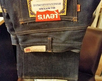VINTAGE    LEVIS'S    BELLBOTTOMS   36/32   70's or 80's   Never Worn,   Still With All Original Tags
