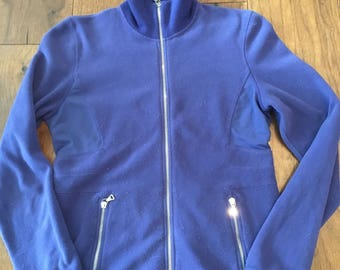 Prada Fleece Zip Up Ski Jacket 90's