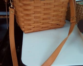 Longaberger basket purse - vintage