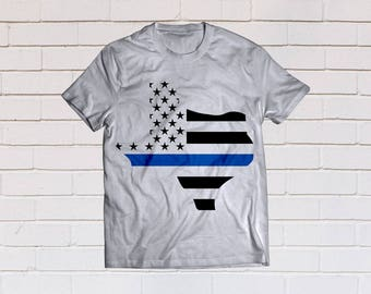 Thin blue line svg, Back the blue svg, Texas svg, Law enforcement, SVG Files, Cricut, Cameo, Cut file, Files, Clipart, Svg, DXF, Png, Eps