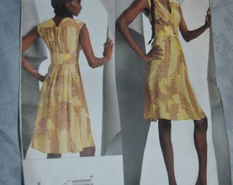 Vogue 1086 Tracy Reese Misses Dress Sewing Pattern - UNCUT Size 18 20 22 24