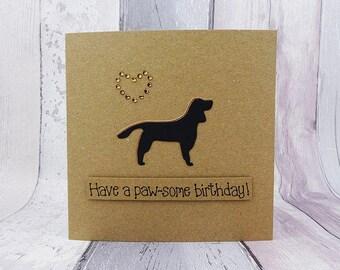 Setter Birthday Card: English Setter, Irish Setter, Red Setter, Gordon Setter, Gun Dog Birthday card, Springer Spaniel birthday card,