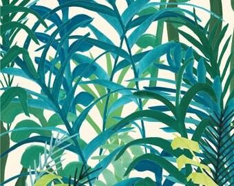 Jungle 2/Art Print A5