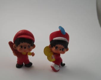 Monchichi 1979 Sekiguchi PVC Figures Vintage toys Mattel Japan