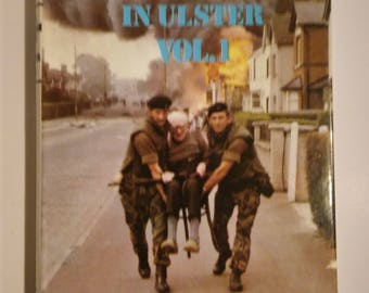 Hardback books The British Army in Ulster Volumes 1 and 2 by David Barzilay 1970s