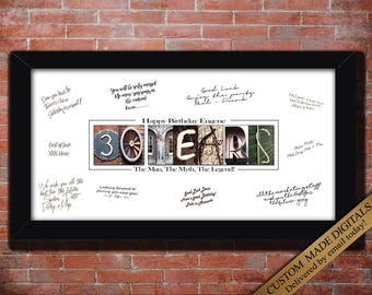 30th Birthday Gifts For Him Men THIRTY Husband Gift Friend