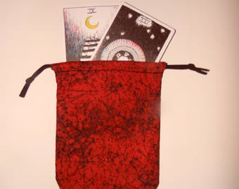 Red Spider Cleansing Tarot Bag
