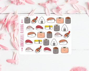 Sushi Mini Sticker Sheet