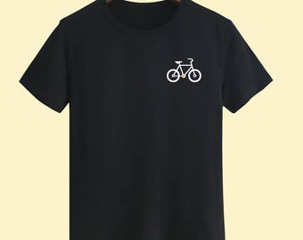 Bicycle Unisex T shirt T Shirts For Men T Shirts For Women T Shirt For Youth Street T-shirts Hipster T Shirt Customize Gift T Shirt
