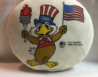1984 Los Angeles Olympics Pillow (#005)