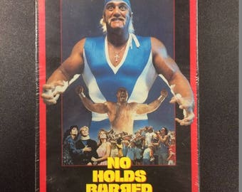 No Holds Barred VHS - Hulk Hogan Wrestling Movie