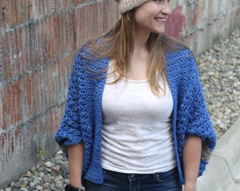 Crochet Pattern for Georgetown Felted Slouchy beanie crochet pattern