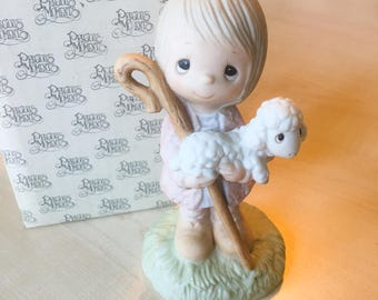 Vintage Precious Moments We Have Seen His Star Figurine E-2010