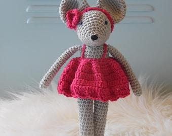 Rosie the little mouse crochet