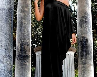 Long Oversize dress,  Black Oversize Dress, Loose Dress, Black Maxi Dress, Plus Size Black Dress, Long Sleeve Dress, Black Long Tunic