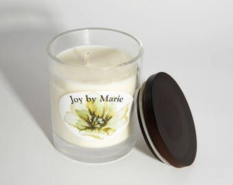 Large Soy Candle - Patchouli and Clove - Essential Oil Blend - Quote Candle - Thank You Gift - Gift for Girlfriend - Essential Oil Candle