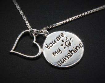 Sunshine Valentine Heart Pendant
